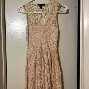 Baby pink /Cream dress for any occasion.